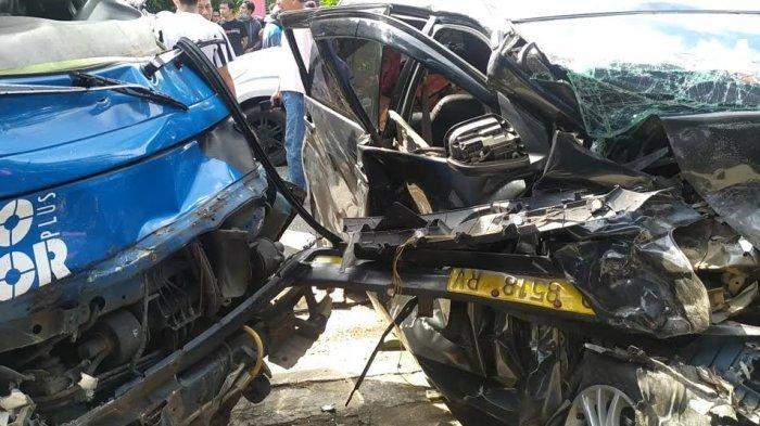 Kronologis Tiga Mobil Kecelakaan di Bantaeng, Sopir Angkutan BBM Diduga Mengantuk