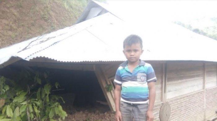 3 Rumah Warga di Lembang Terdampak Longsor