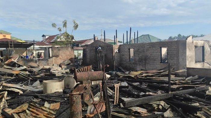Dua Bulan, 17 Rumah Terbakar di Desa Lamuru Bone