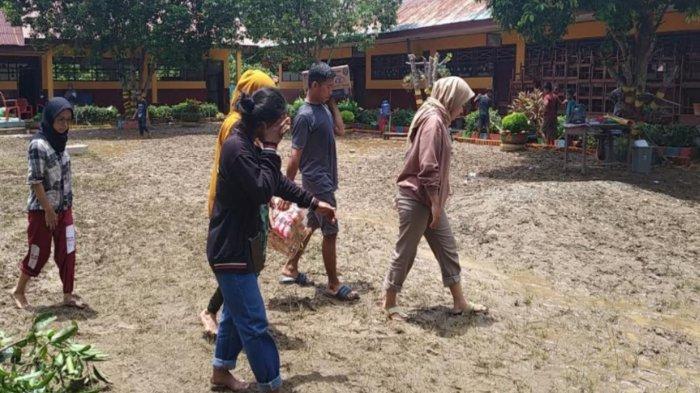 Kondisi Terkini Banjir di Bua Luwu, Warga Mulai Pembersihan