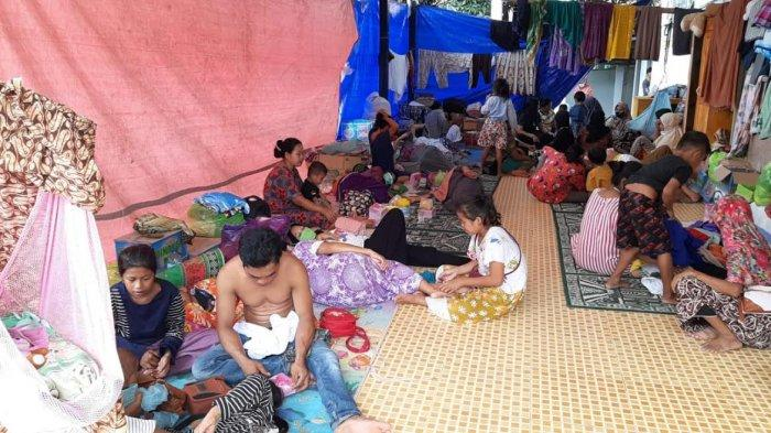 Relawan Kopel: Kondisi Pengungsi Gempa Sulbar Memprihatinkan, Anak-anak Mulai Terserang Penyakit