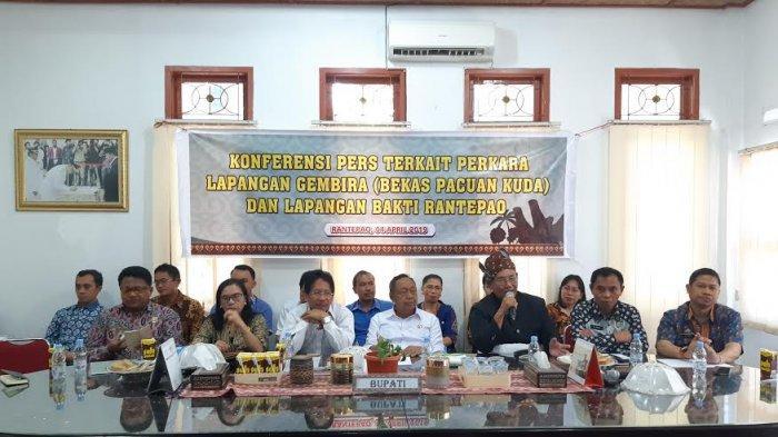 MA Tolak Kasasi Pemkab Toraja Utara, Gertak Tetap Pertahankan Lapangan Gembira Rantepao