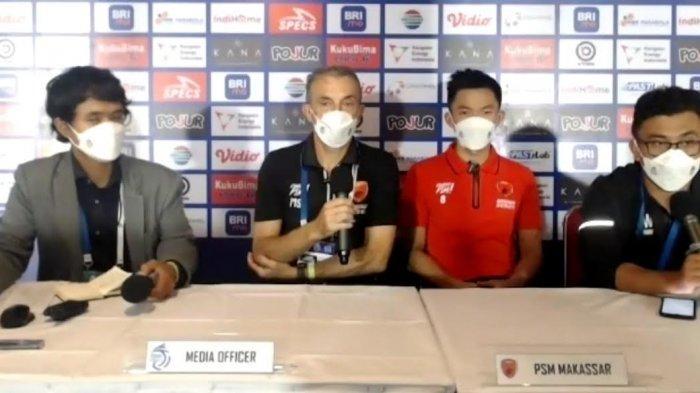 Gagal Raih Tiga Poin Lawan Madura United,Pelatih PSM Makassar; Semua Tim Layak Dapat Satu Poin