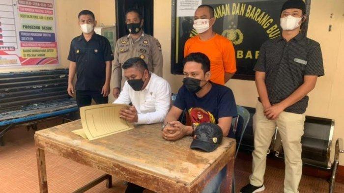 Hendak Edarkan Sabu, Tukang Batu Asal Makassar Ditangkap di Barru