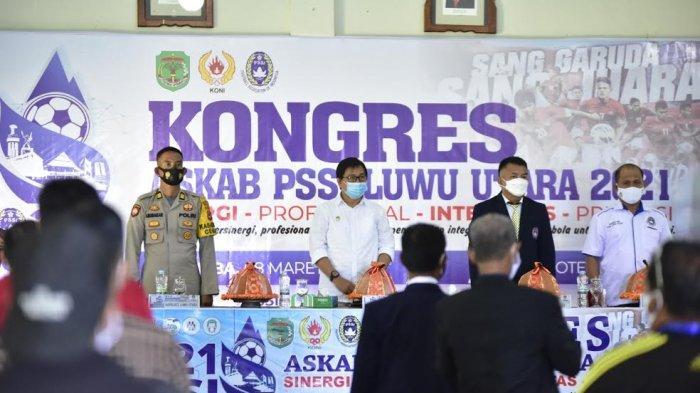 Anggota DPRD Azhal Arifin Aklamasi Pimpin Askab PSSI Luwu Utara