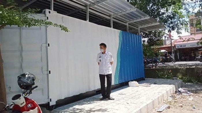 Ditarget Selesai Pekan Ini, Kontainer di Kecamatan Panakkukang Belum Ada yang Rampung