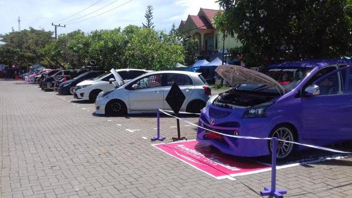 Bams Barru Gelar Kontes Mobil di Taman Colliq Pujie