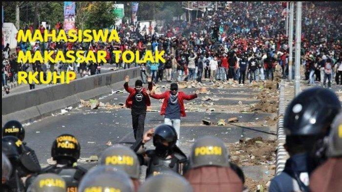 Kontroversi RKUHP di DPR RI, Demo Mahasiswa Pecah di Berbagai Daerah, hingga Jokowi Minta Ditunda