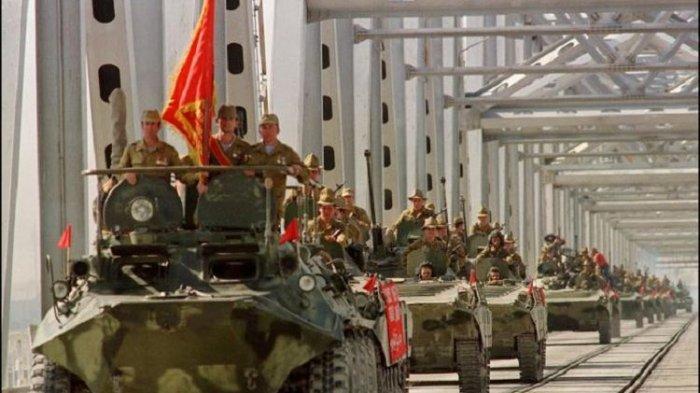 Dulu Uni Soviet Juga Menyerang Afghanistan, Namun Mundur Setelah 8 Tahun Berperang dan Tak Menang