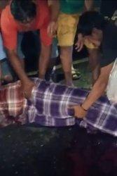 BREAKING NEWS: Tabrak Lari di Jl Poros Bone-Makassar, Pengendara Motor Tewas