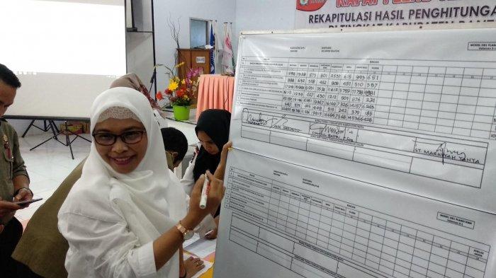 Hasil Rekap KPU - Dari 140.535 Pemilih, Prof Andalan Kuasai 84.606 Suara di Bantaeng