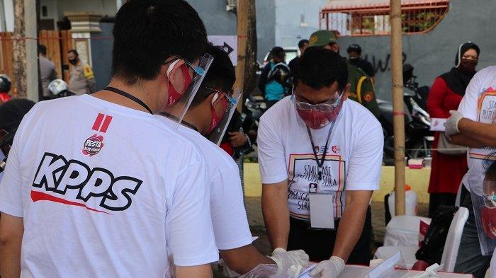 Simulasi Pemungutan Suara Pilkada Makassar, KPU Harap Ketegasan KPPS