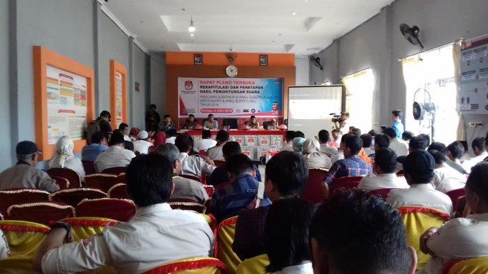 Rekap Suara KPU, IYL-Cakka Menang di Luwu, Disusul Prof Andalan