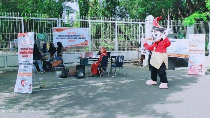 Gelar Uji Publik DPS, KPU Maros Siapkan Posko Aduan Bagi Warga yang Belum Terdaftar