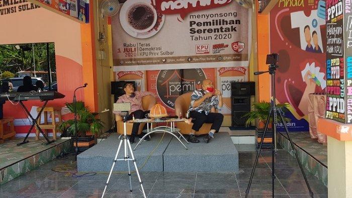 KPU Sulbar Bahas Kesiapan Pilkada di Tengah Pandemi Covid-19