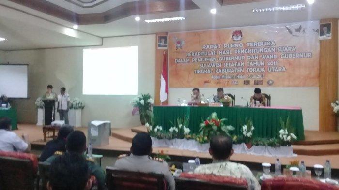 Prof Andalan Raih 62.418 Suara di Kabupaten Toraja Utara