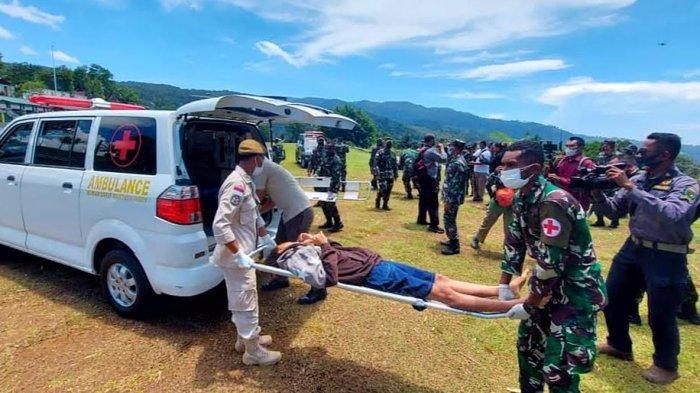 Ditemukan di Jurang, Tenaga Kesehatan Asal Toraja Jadi Korban Keganasan KKB Dievakuasi ke Jayapura