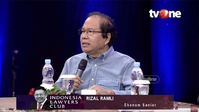 Video ILC TV One, Menohok ke Jokowi & Anak Buah Inilah Pernyataan Rizal Ramli tentang Wabah Covid-19