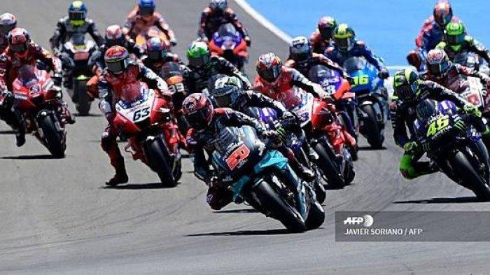 Link Live Streaming Trans 7 MotoGP 2020 Eropa, Ujian Kepantasan Joan Mir Juara Baru, Rossi Star 17