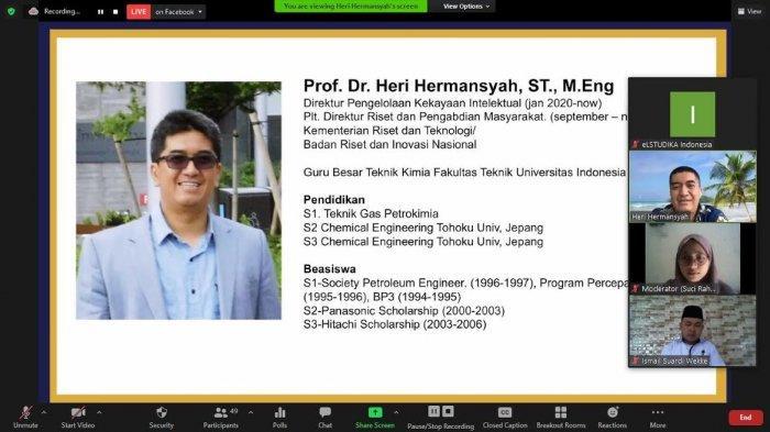 Penutupan Short Course HMI Gowa Raya, Prof Heri Hermansyah Membawakan Kuliah Umum