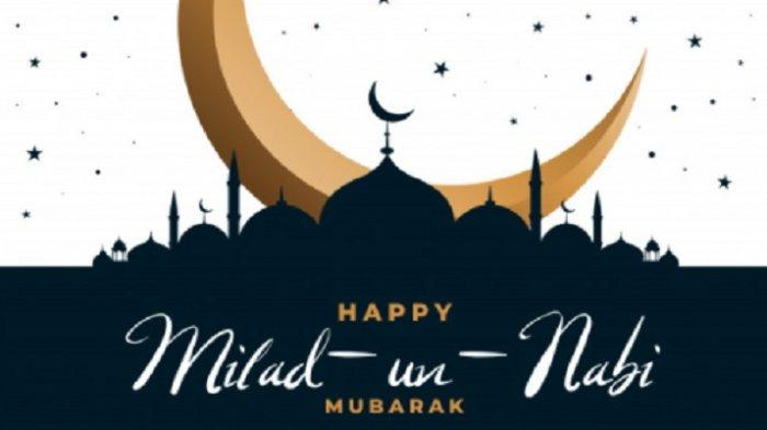 Kumpulan Poster dan Ucapan Maulid Nabi Muhammad 2020 Bahasa Indonesia dan Inggris, Kirim di WhatsApp