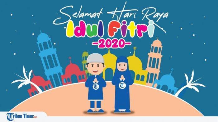 Berikut 40 Contoh Ucapan Selamat Hari Raya Idul Fitri 1441 H/2020 Bahasa Indonesia & Inggris