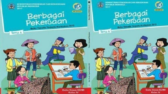 Kunci Jawaban Buku Tematik Kelas 4 SD Tema 4 Halaman 37 38 39 40 41 42 43: Jenis-jenis Pekerjaan