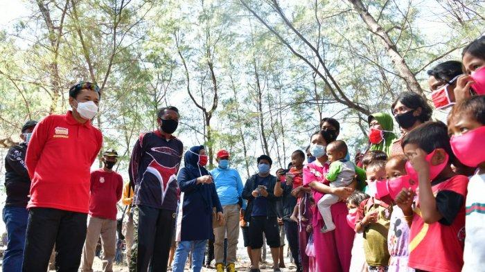 Akhir Pekan Pj Wali Kota Makassar Habiskan Waktu Bareng Gubernur Sulsel di Pulau Lanjukang