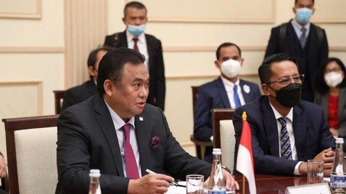 Ketua DPRD Makassar Rudianto Lallo ikut mendampinginya rombongan kunjungan Wakil Ketua DPR RI Rahmat Gobel ke Uzbekistan