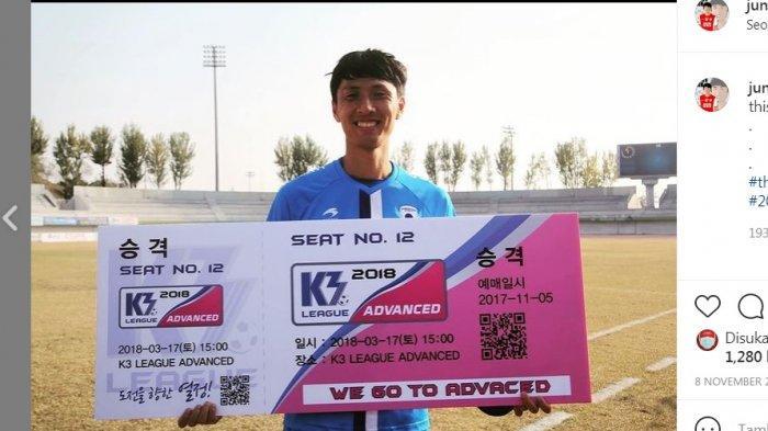 Masih Ingat Kwon Jun? 2 Kali Perkuat PSM Makassar, Kini Pulang Kampung ke Korea, Begini Kondisinya?