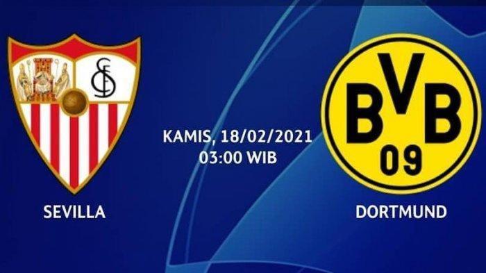 NONTON TV Online 3 LINK Live Streaming Sevilla vs Dortmund - Nonton Gratis di Sini Update Skor 1-0