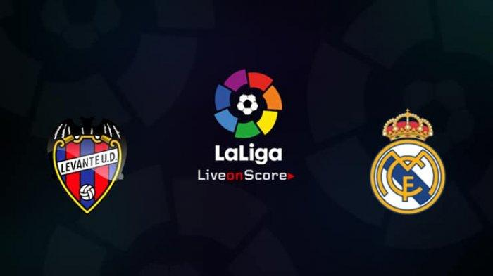 TV Online 4 LINK Live Streaming Liga Spanyol Levante vs Real Madrid - Nonton di HP Live beIN Sports