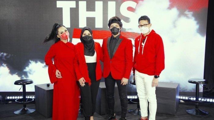 LaguAtta Halilintar'This is Indonesia' Muncul di Times Square AS, Reaksi Suami Aurel Hermansyah