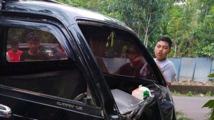 Lakalantas di Kampung Karang Kasia Tala-tala Bantaeng, Satu Korban Luka Parah