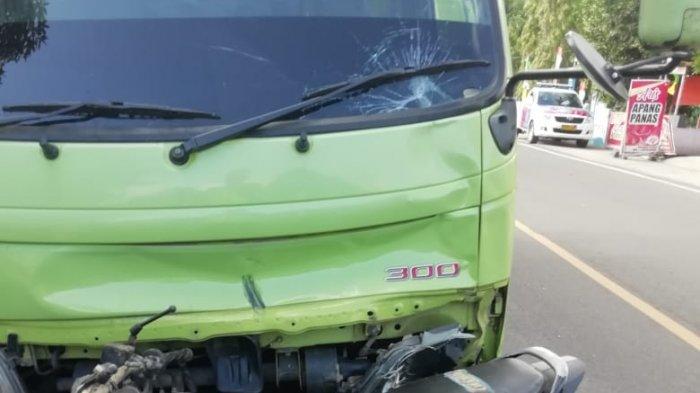 Korban Kecelakaan Motor Smash Vs Truk Hino di Poros Pinrang-Polman Meninggal Dunia