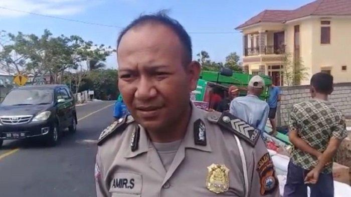 Kelebihan Muatan Picu Ban Mobil Truk Pecah di Poros Jeneponto-Bantaeng