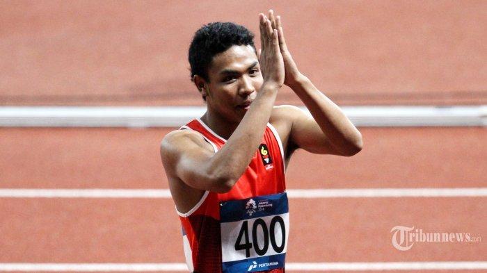 Masih Ingat Lalu Muhammad Zohri? Tampil di Lari 100 M Olimpiade Tokyo 2020, Ini Hasil Terbaiknya?