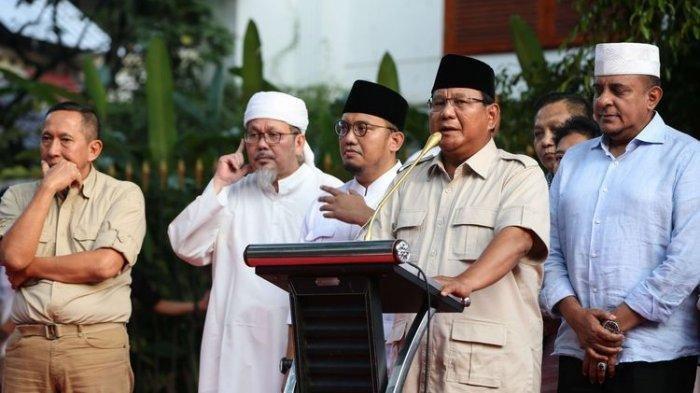 Kok Bisa, Angka Klaim Kemenangan Prabowo-Sandiaga Berubah? Dulu Mengaku 62%, Kini Hanya 54%