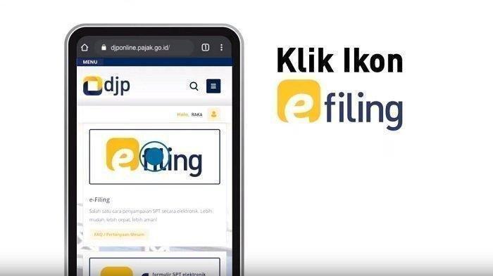Berikut langkah-langkah atau cara lapor SPT Tahunan 2020 via e-Filing di Link djponline.pajak.go.id