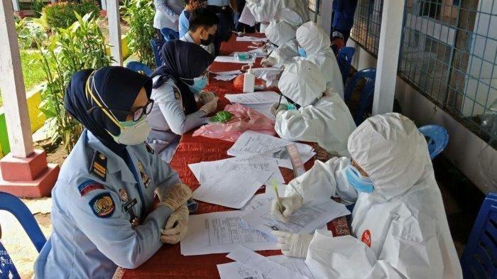 Masa Pandemi, Lapas Polman Sediakan Fasilitas Besuk Virtual