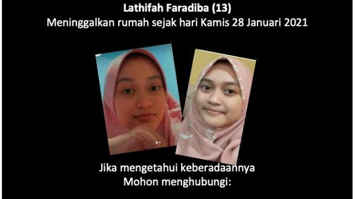 Lathifah Faradiba, Putri Pejabat Kabupaten Wajo Dikabarkan Hilang