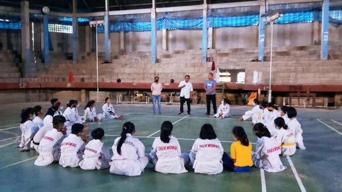Tujuh Bulan Vakum Gegara Corona, Cabor Taekwondo Toraja Utara Mulai Gelar Latihan