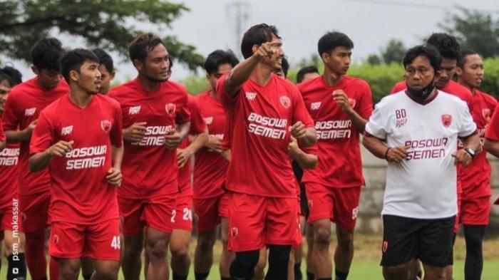 Latihan PSM Makassar di Bosowa Spot Center, Kota Makassar, beberapa hari yang lalu.