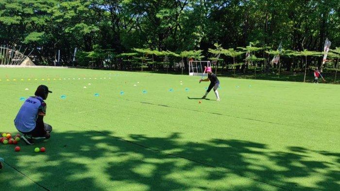 Target Emas, Tim Hoki Putri Sulsel Fokus Latihan Teknik