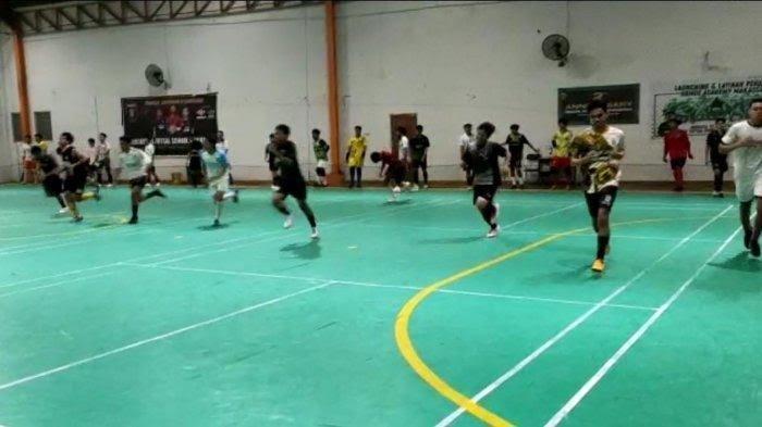 Matangkan Persiapan Menuju PON XX Papua, Tim Futsal Sulsel Uji Tanding Lawan Tim Futsal Papua