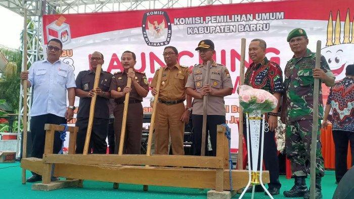 Launching Pilkada Damai, Begini Harapan Ketua KPU Barru