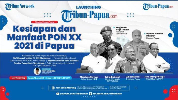 BREAKING NEWS: Menpora Hingga Gubernur Papua Saksikan Launching Tribun-papua.com