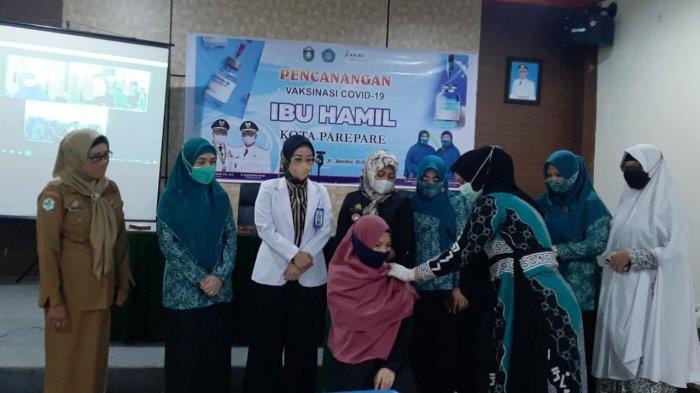 Pemkot Parepare Launching Vaksinasi Untuk Ibu Hamil