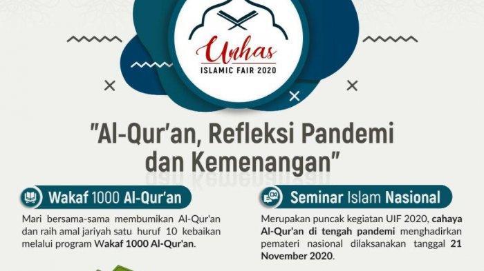 Unhas Islamic Fair 2020 Akan Digelar, Ini Item Kegiatannya!