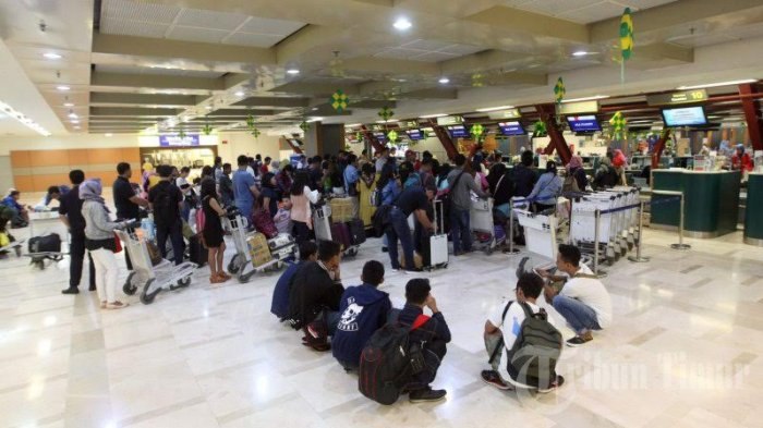Jumlah Penumpang Tinggalkan  Makassar Via Bandara Hasanuddin Naik 12,7 %